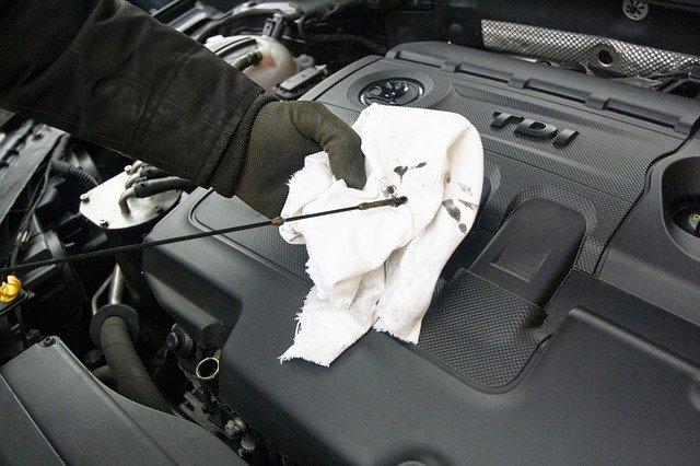controle huile moteur